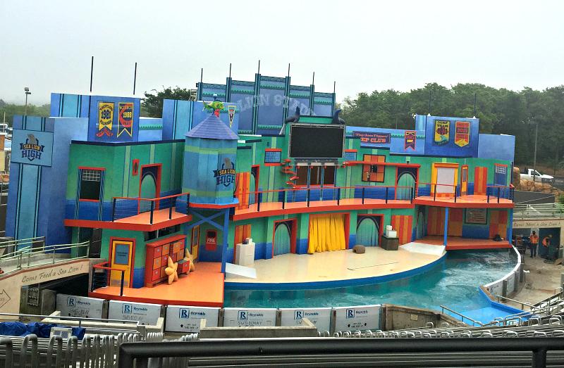 Sea Lion Stadium sea world san antonio just for kids April #Wildside15