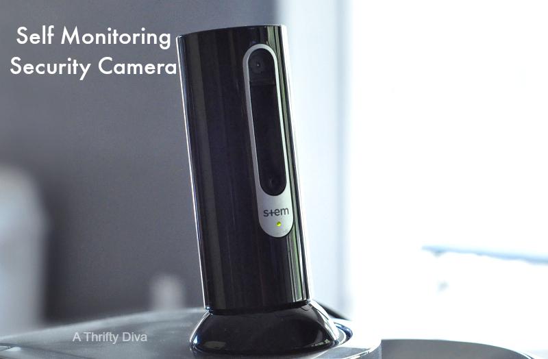 izon Self Monitoring security camera