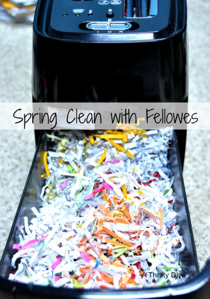 spring clean with Fellowes office tips