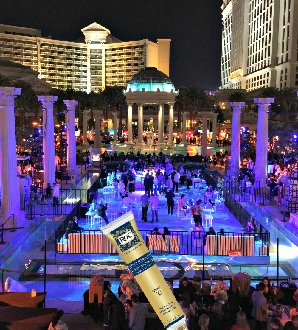 1 End-a-fantastic-night-at-Caesars-Palace-pool-for-Vegas-Uncorkd-with-RoC-Retinol-Correxion-Deep-Wrinkle-Night-Cream