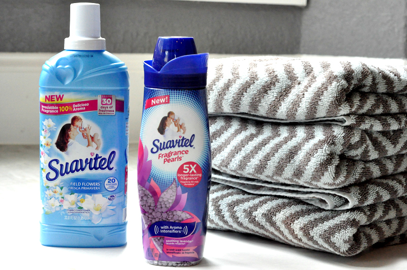 Everyday Laundry Tips #LongLastingScent Suavitel fragrance pearls