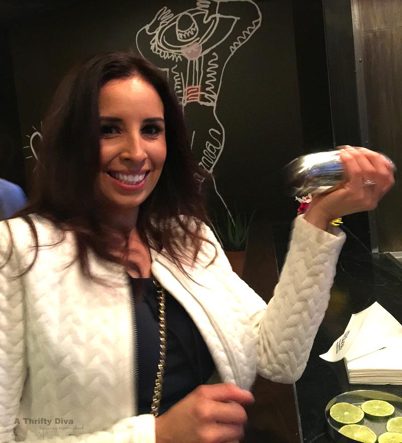make your own margarita at Vegas Uncork'd