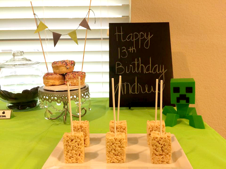minecraft party items