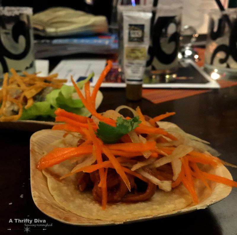 tacos RoC Skincare at vegas uncork'd