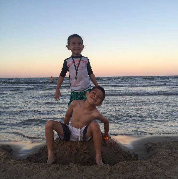 boys on the beach #lifeconnected
