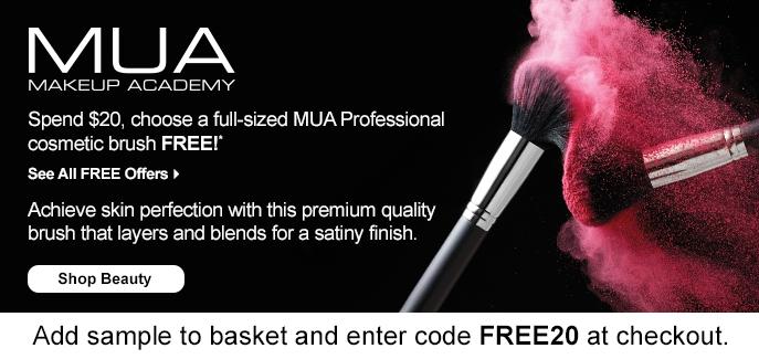 MUA makeup academy coupon code