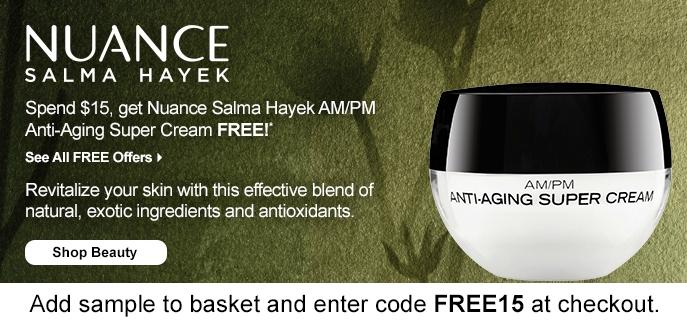 NUANCE salma hayek coupon code