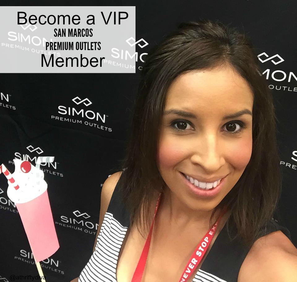 VIP simon san marcos premium outlets