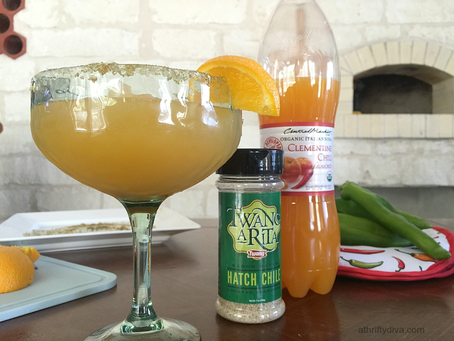 Clementine Hatch Chile Frozen drink