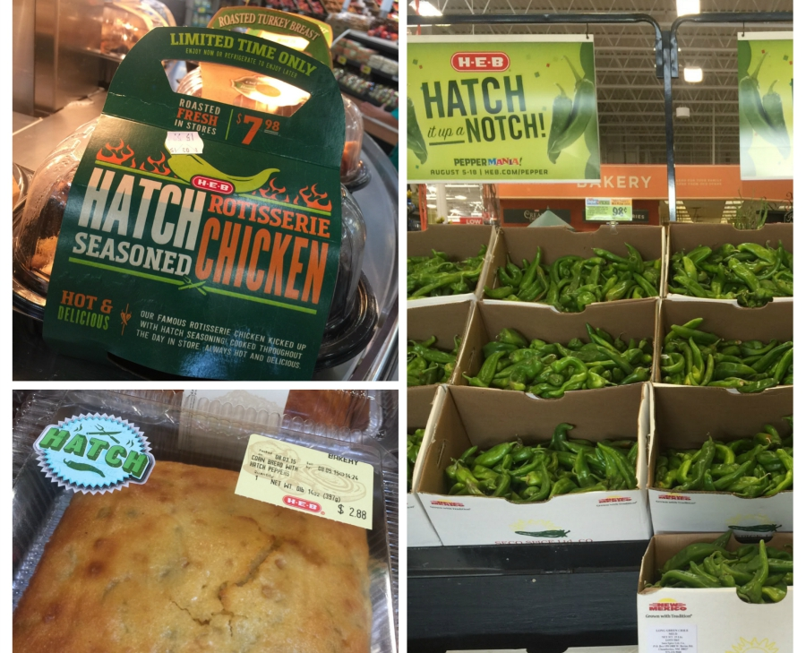 Hatch items at H-E-B