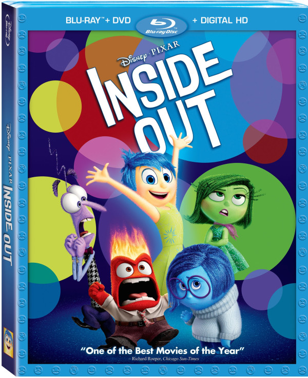 Inside Out Bluray ComboArt