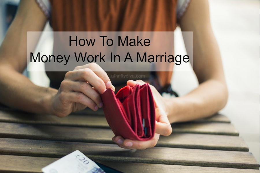 how to make money work in a marriage