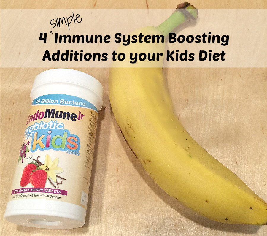 4 simple immune system boosting additions to your kids diet