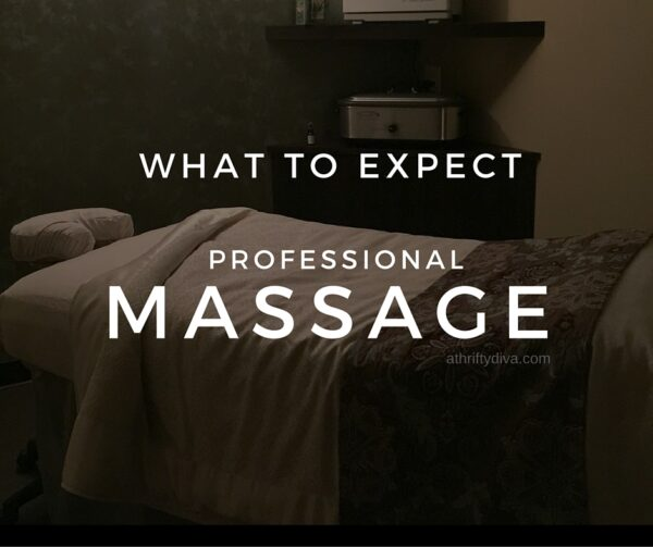 what to expect professional massage