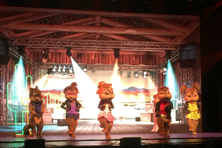 Alvin and the chipmunks with the chippettes