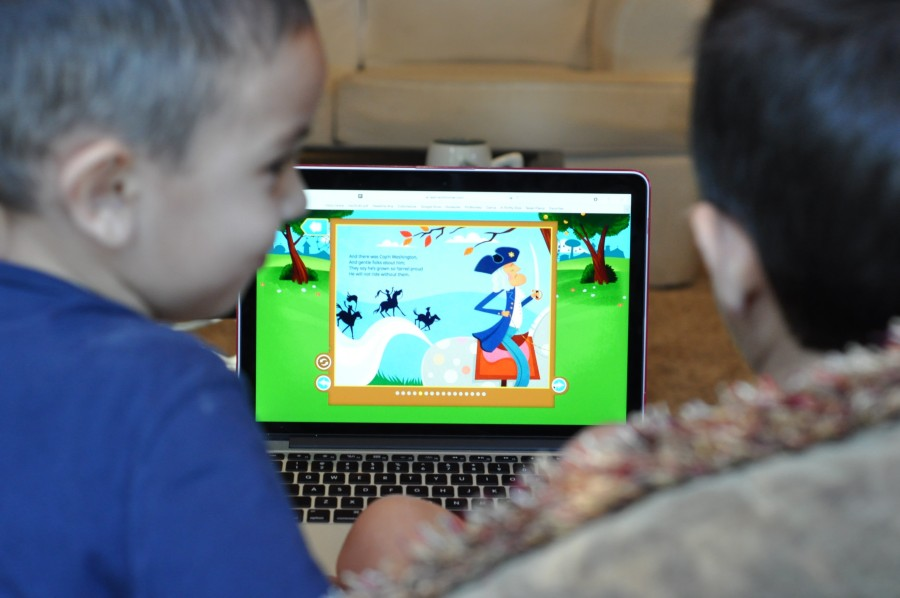 Lean with Homer web and app based early learning for kids ages 3-7 years old.