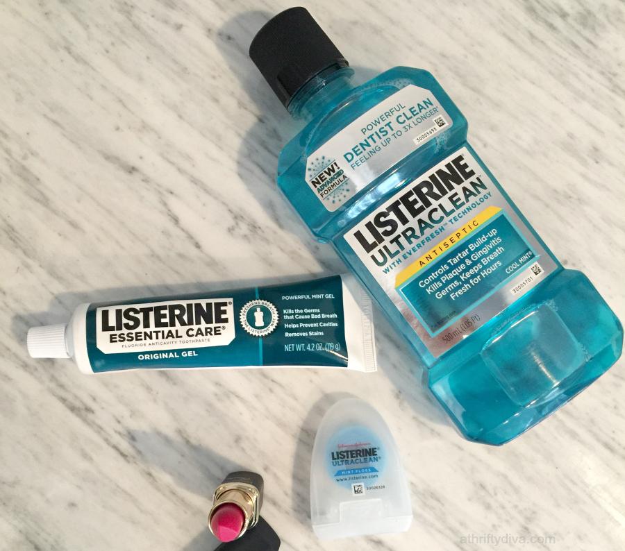 Listerine ultraclean