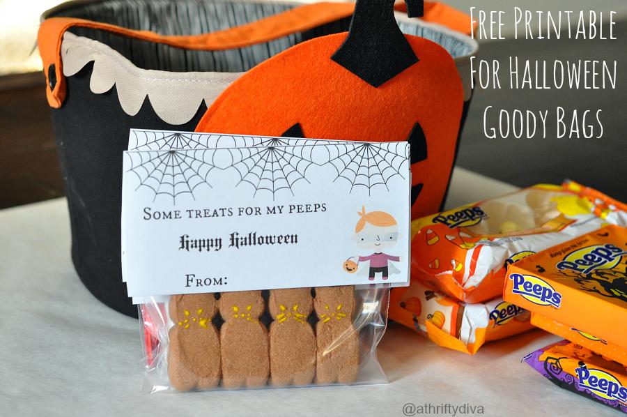 free printable for halloween goody bags