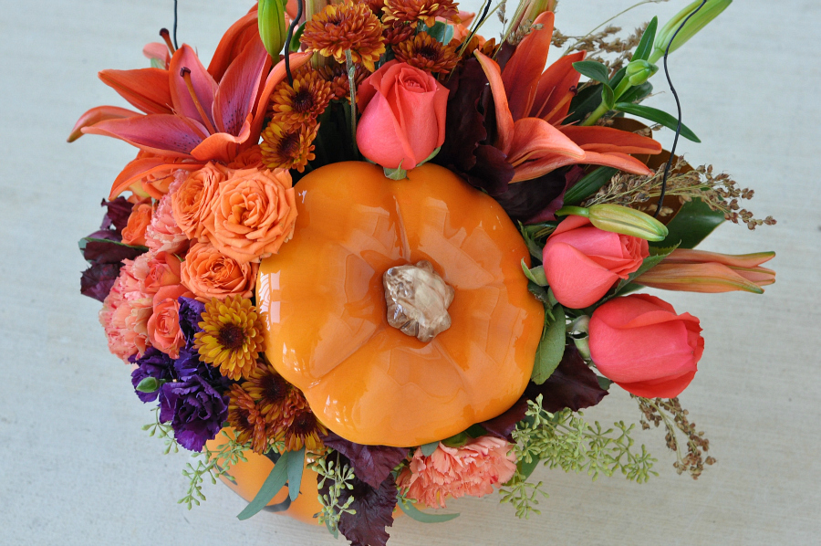 perfect fall bouquet
