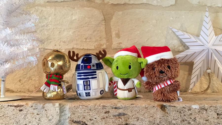 Holiday Star Wars itty bittys #Hallmark AD