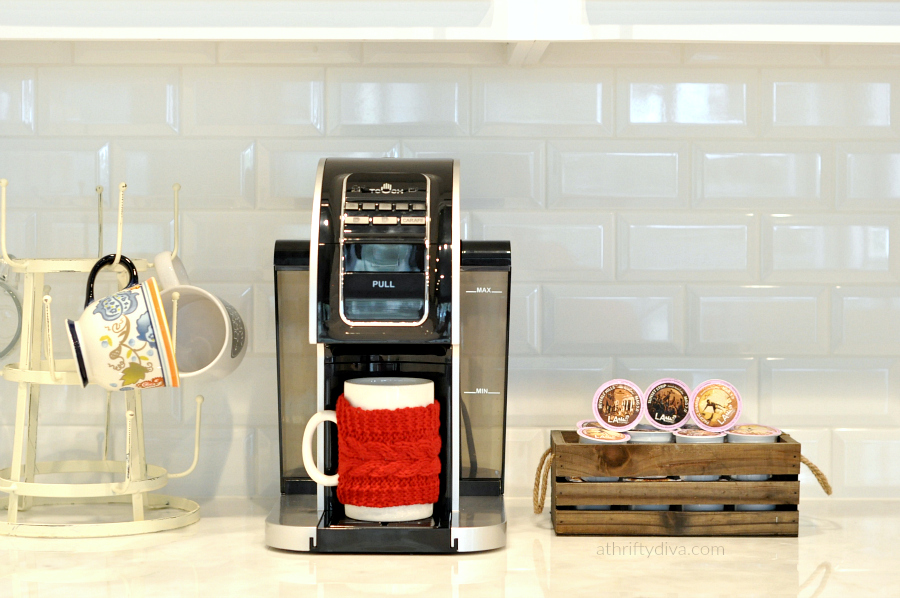 Touch T526S Coffee Brewing system Kitchen design
