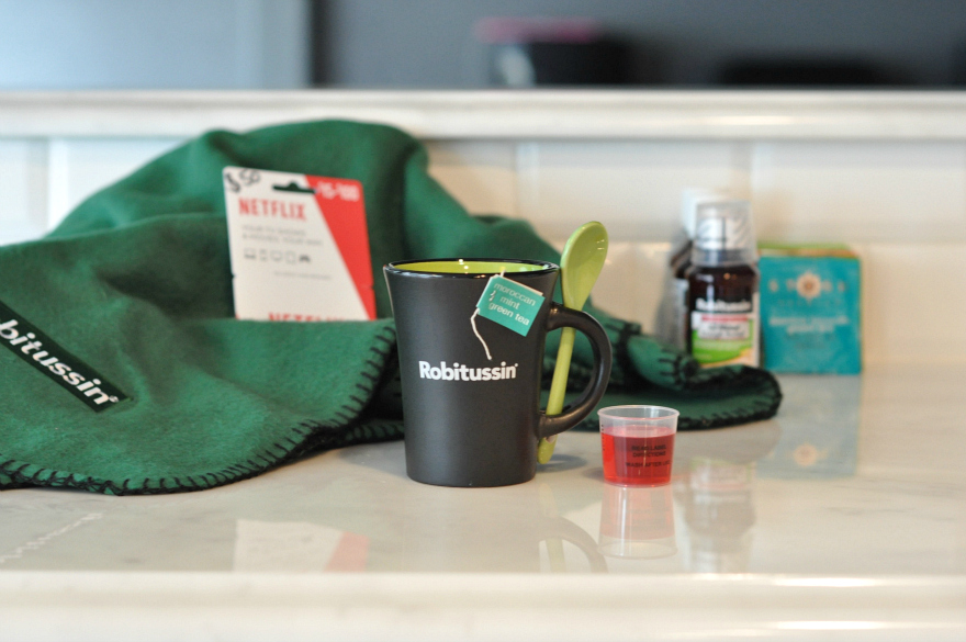 8  ways to Tackle A Sick Day with Robitussin