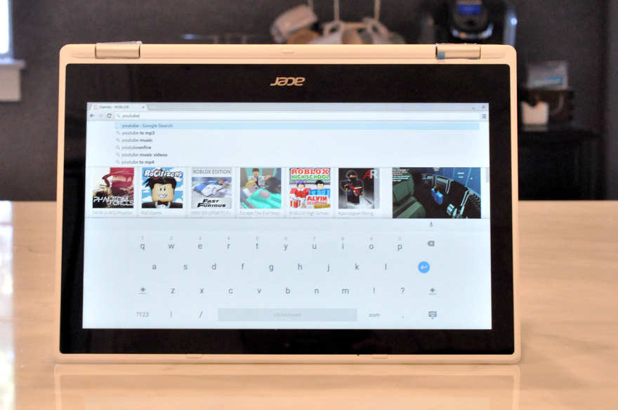 Acer CHROMEBOOK R11 touchscreen