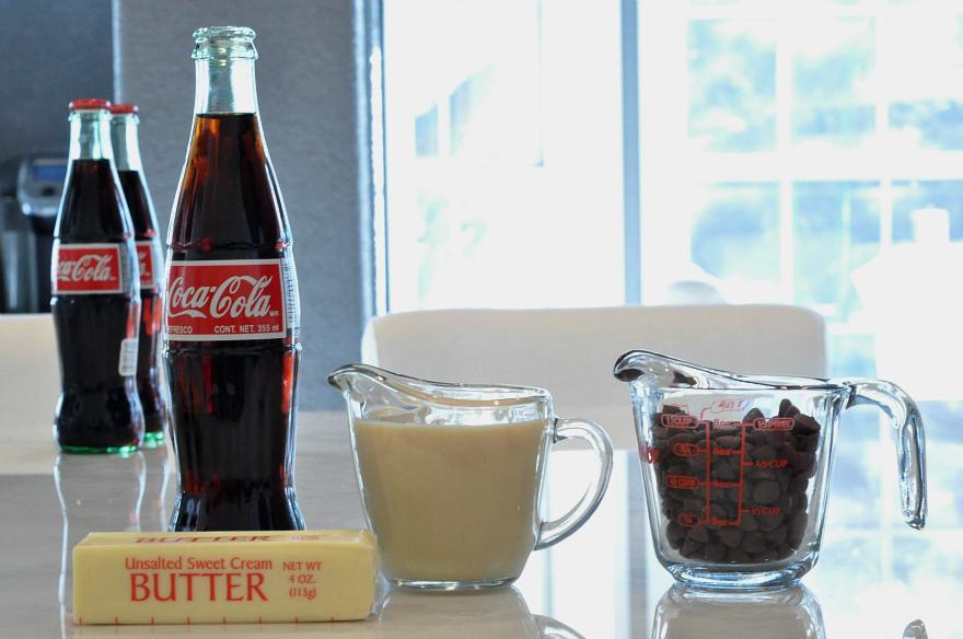 Coca-Cola Fudge Ingredients Holiday Joy with Coca-Cola at Sam's Club #ShareHolidayJoy #CollectiveBias