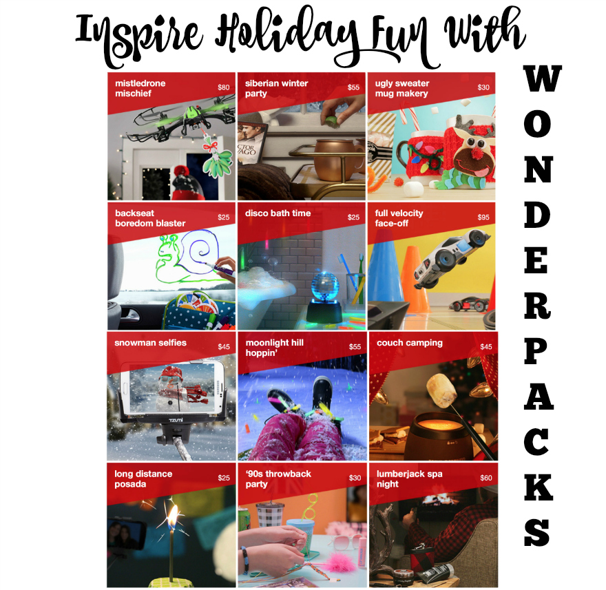Inspire HOLIDAY Fun With WonderPacks
