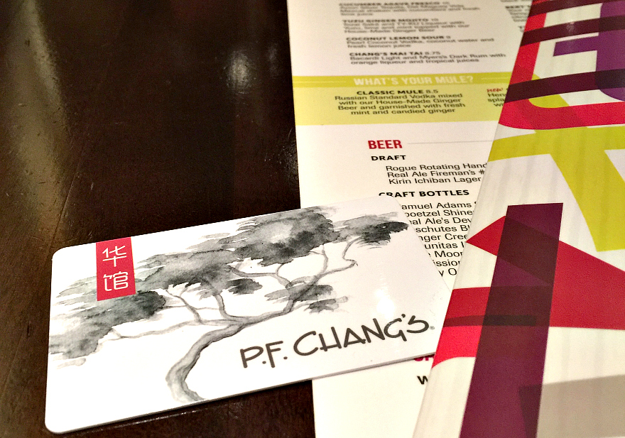 P.F. Chang's For the Holidays With The Gift Card Dining Deal