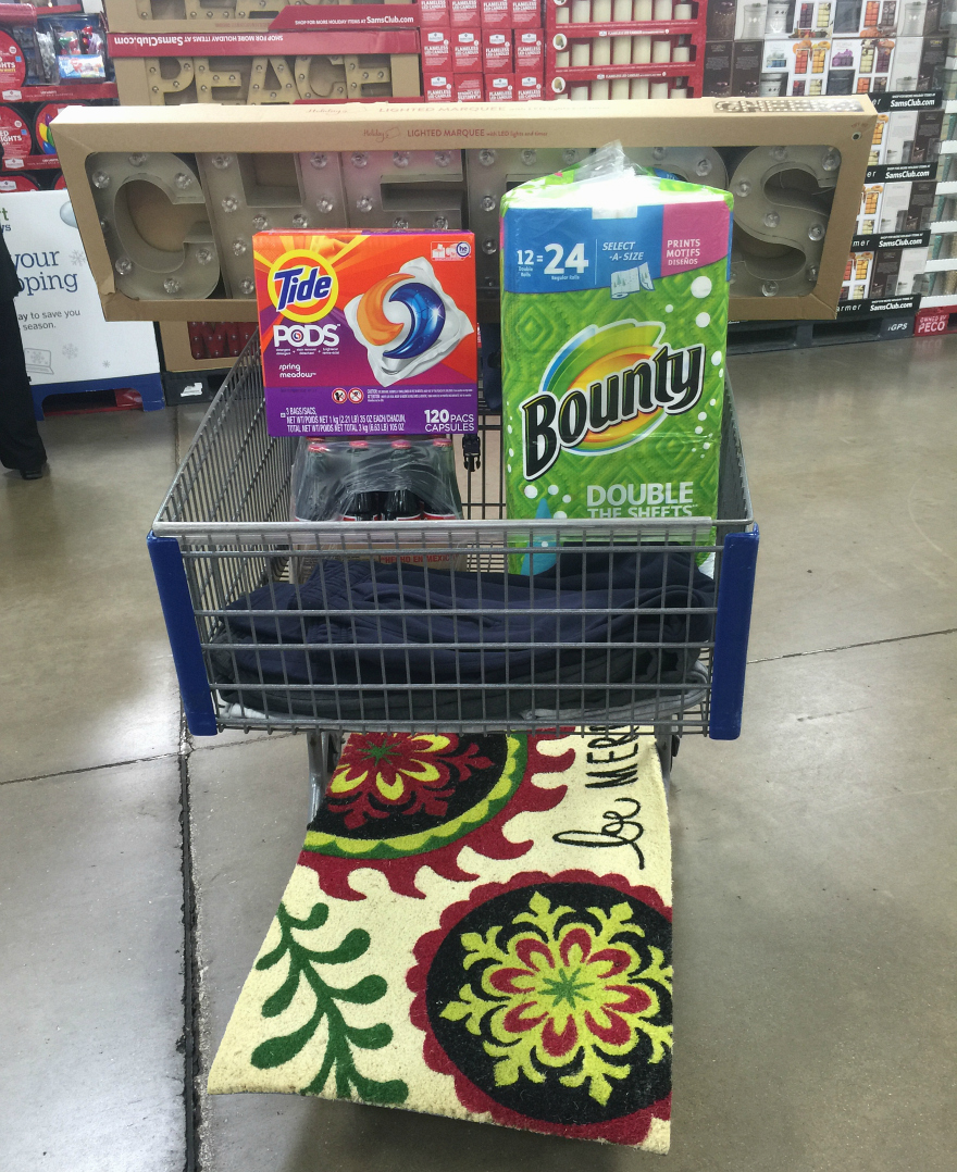 Shopping for Everyday Essentials from Sam's Club + $100 Sam's Club Giveaway #fullhomehappyhome