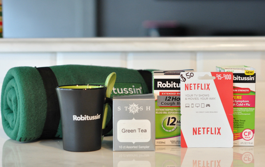 Tackle A Sick Day with Robitussin Prize Pack