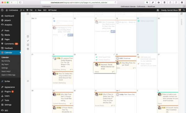 The Most Valuable Way To Plan Your Blog Content CoSchedule WordPress Calendar