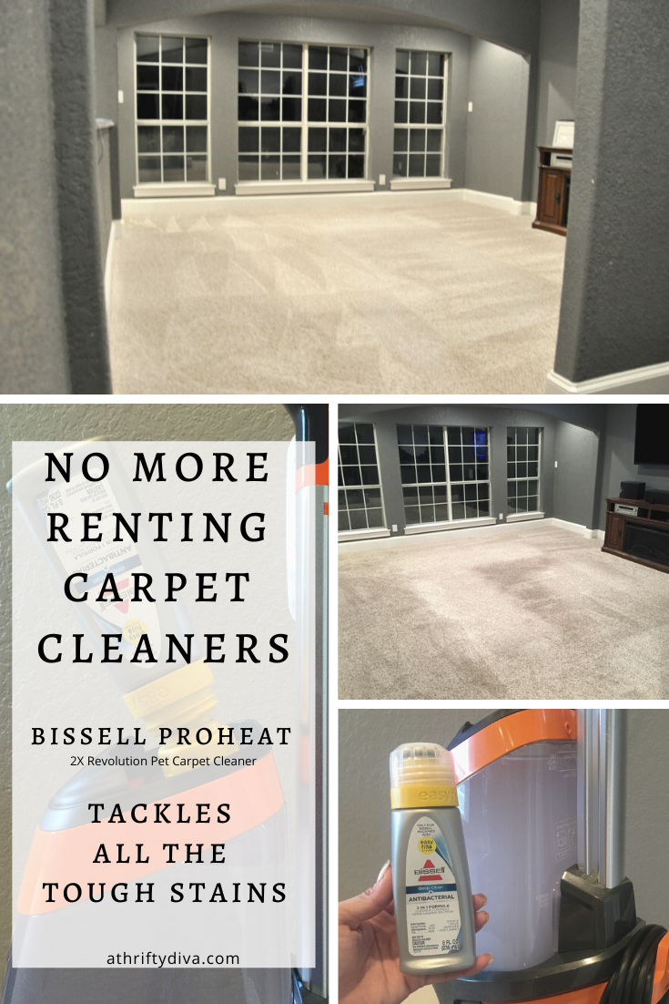 How To Deep Clean your carpets and area rugs