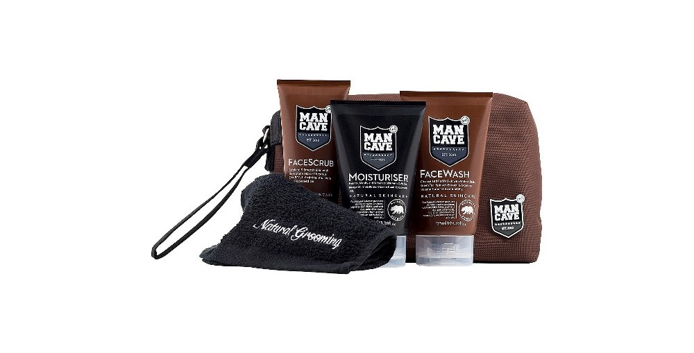 ManCave Grooming For Men All Natural SkinCare
