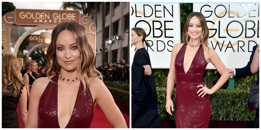 Olivia Wilde Golden Globes Get The Look