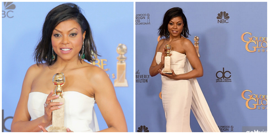 Taraji P. Henson Golden Globes Get The Look