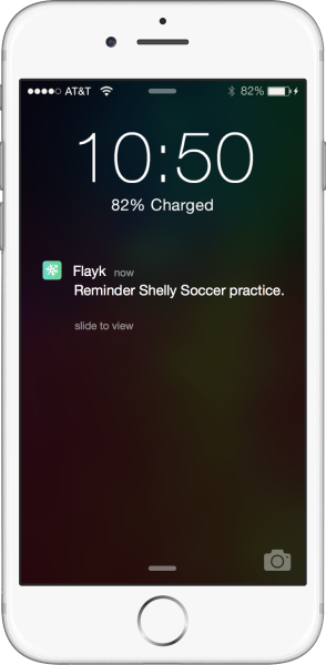 Flayk Family Management app updates