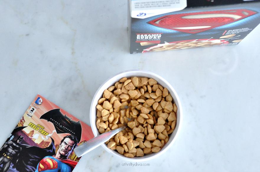 Bowl of superman cereal #batmancereal #supermancereal #superheroescereal #batmanvsuperman
