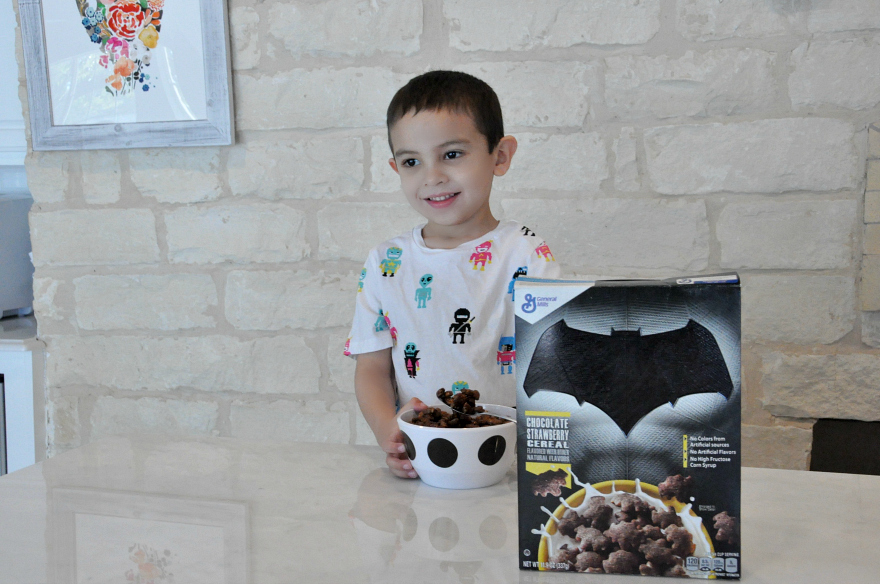 Fun with Batman™ Chocolate Strawberry Cereals from General Mills