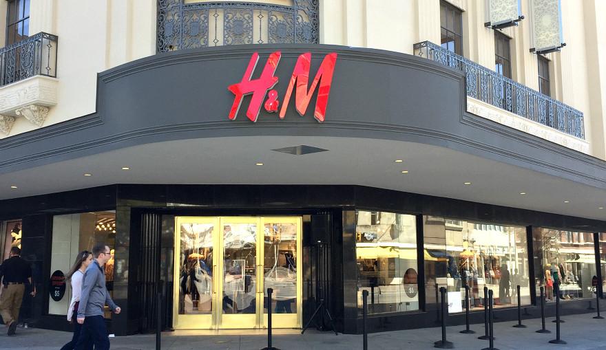 H&M San Antonio Rivercenter Mall Media Preview