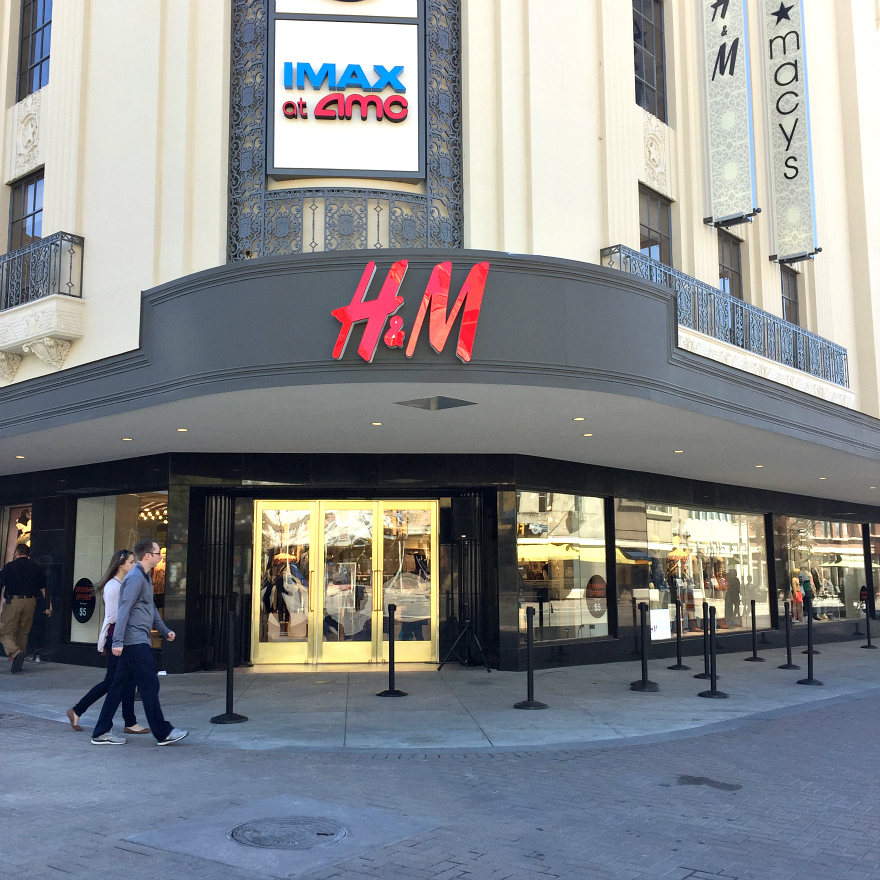 H&M San Antonio Rivercenter Mall Media Preview