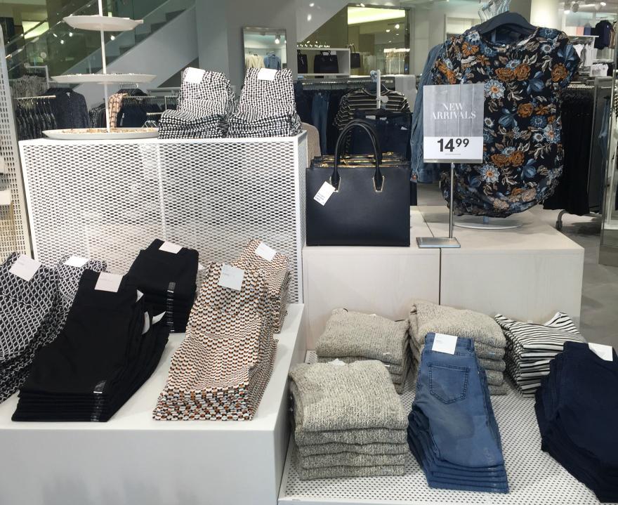 H&M womens San Antonio Rivercenter Mall Media Preview