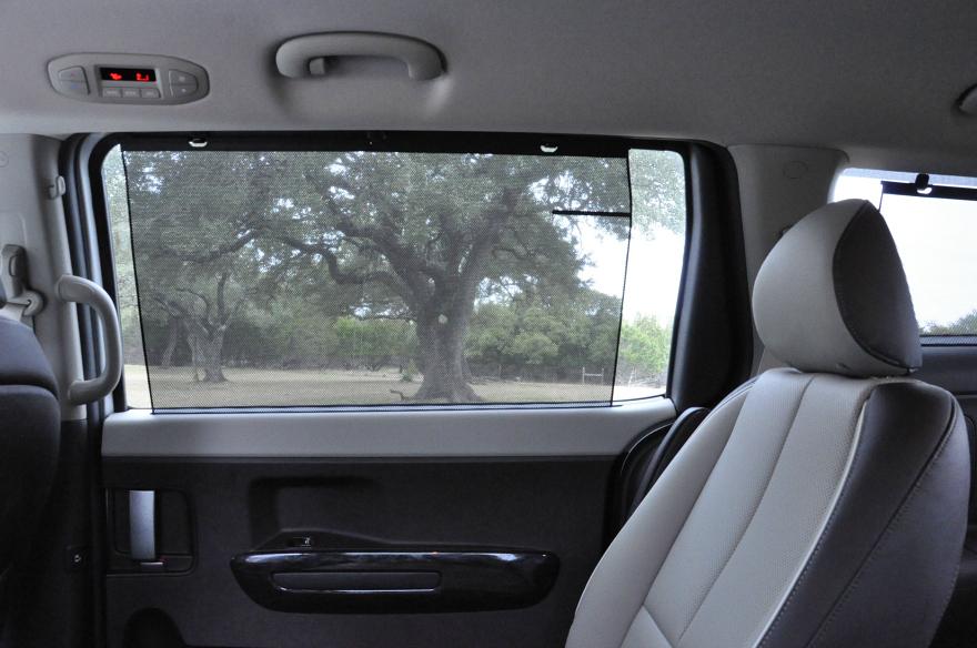 Kia Sedona window shade
