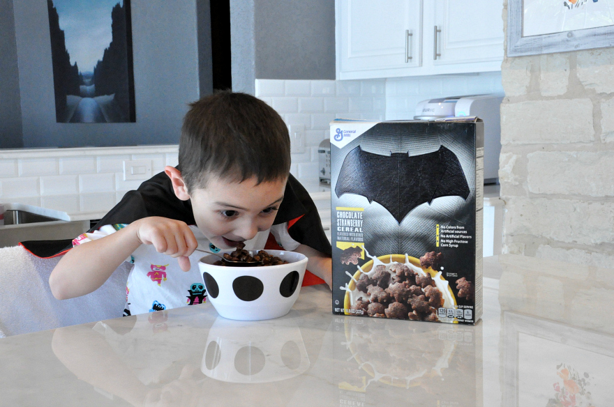 Super Hero allegiance with new Batman™ Chocolate Strawberry Cereals from General Mills