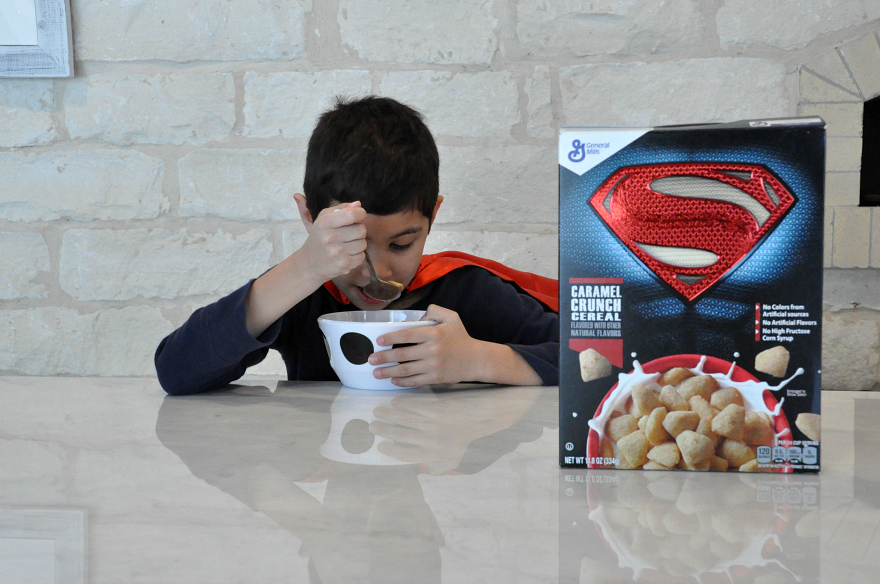 Super Hero allegiance with new Superman™ Caramel Crunch from General Mills
