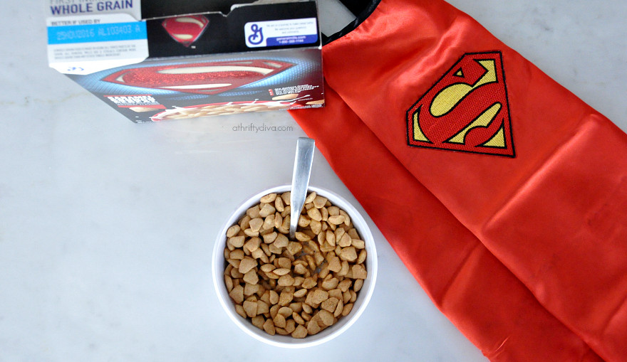 Superman™ Caramel Crunch #batmancereal #supermancereal #superheroescereal #supermancereal