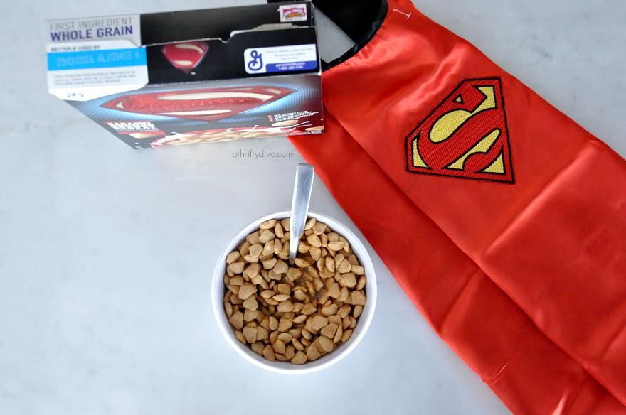 Superman™ Caramel Crunch #batmancereal #supermancereal #superheroescereal #supermancereal