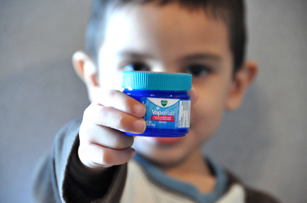 Vicks VapoRub Cough Suppressant #VapoLove