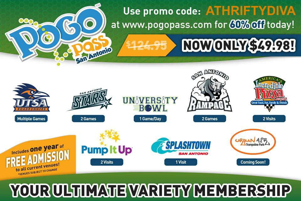 POGO PASS San Antonio Ultimate Variety Pass